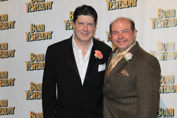 Michael McGrath and Danny Rutigliano at BORN YESTERDAY Opening Night Party