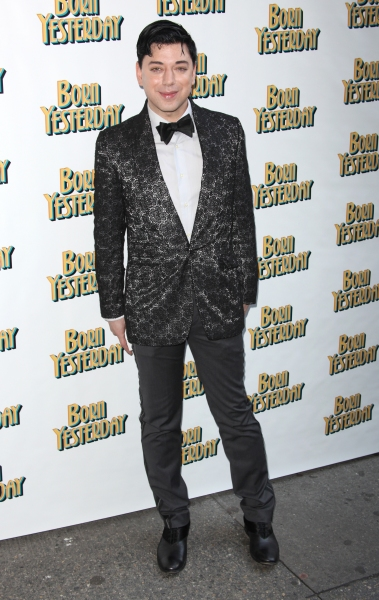 Malan Breton attending the Broadway Opening Night Performance for 'Born Yesterday' in New York City.