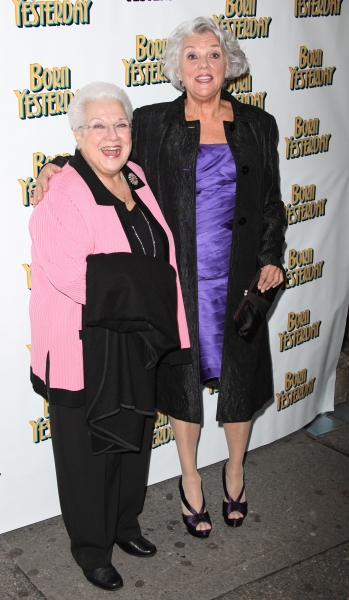 Marilyn Horne & Tyne Daly attending the Broadway Opening Night Performance for 'Born Yesterday' in New York City.