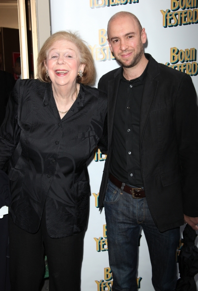Joan Hammond & John Hammond attending the Broadway Opening Night Performance for 'Born Yesterday' in New York City.