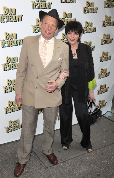 Rock Bryner & Liza Minnelli attending the Broadway Opening Night Performance for 'Born Yesterday' in New York City.