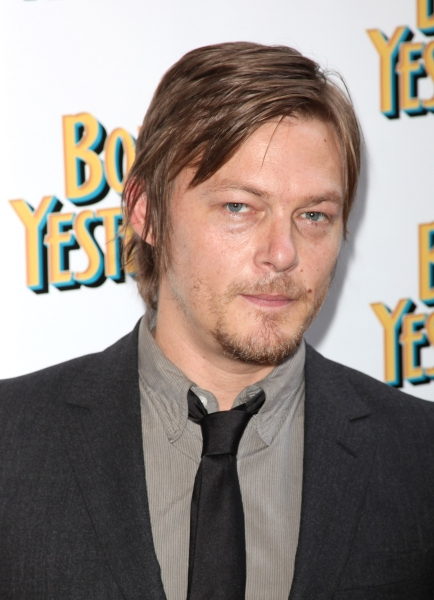 Norman Reedus attending the Broadway Opening Night Performance for 'Born Yesterday' in New York City.