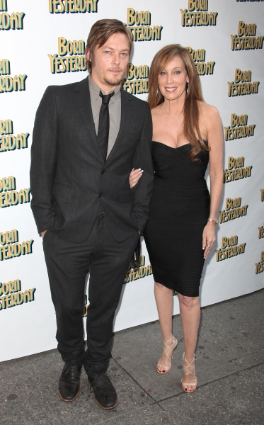 Norman Reedus & Cindy Cowell attending the Broadway Opening Night Performance for 'Born Yesterday' in New York City.