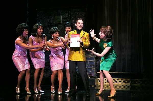 Christina Sajous, Erica Ash, Kyra DaCosta, Crystal Starr, Brandon Uranowitz and Beth Leavel at BABY IT'S YOU Production Shots!