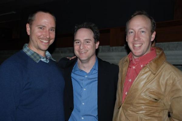 Karl Herlinger, Director Brian Kite, Evan Arnold Photo