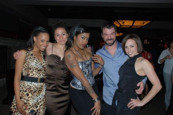 Domonique Paton, Carey Rebecca Brown, Angela Peel, Buck Mason, Dana Solimando Photo