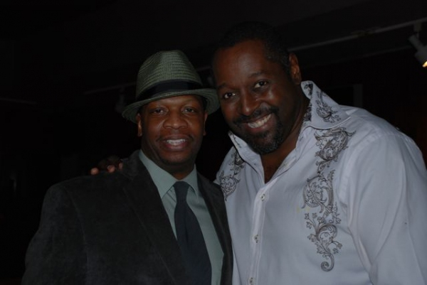 Melvin Abston and Michael A. Shepperd at La Mirada Theatre Celebrates Opening Night of LITTLE SHOP OF HORRORS