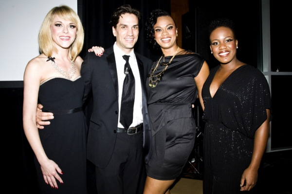 Ashley Spencer, Will Swenson, Jacquiline B. Arnold & Anastacia McCleskey at Family Equality Council Honors PRISCILLA