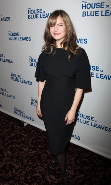 Jennifer Jason Leigh attending the Broadway Opening Night After Party for The House Of Blue Leaves' in New York City.