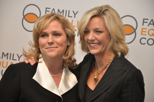 Jennifer Chrisler, Executive Director -Family Equality Council and Kelli Carpenter