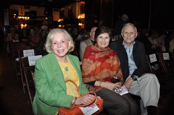 Anita Jaffe, Roxanne Greenstein and Frank Skillern