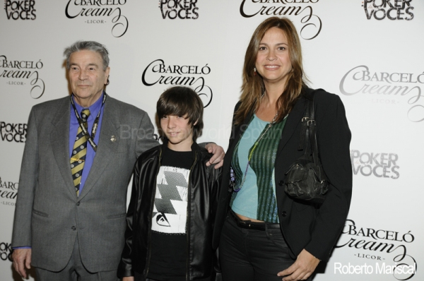 Maximo Valverde, Blas Valverde y Loreto Valverde Photo