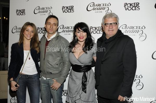Maria Adamuz, Armando Pita, Lorena Calero y Joan Gracia