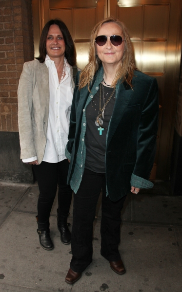 Linda Wallem & Melissa Etheridge attending the Broadway Opening Night Performance of 'The House Of Blue Leaves' at the Walter Kerr Theatre in New York City.