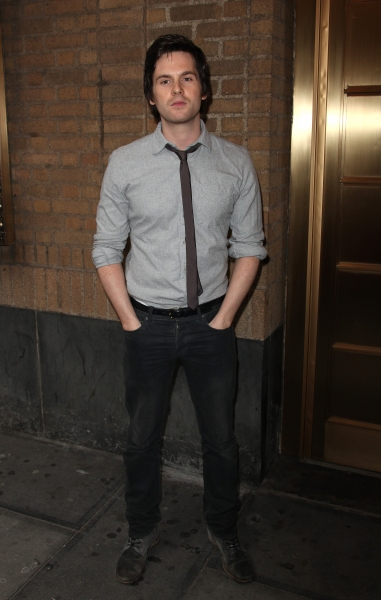 Tom Riley attending the Broadway Opening Night Performance of 'The House Of Blue Leaves' at the Walter Kerr Theatre in New York City.