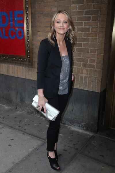 Christine Taylor attending the Broadway Opening Night Performance of 'The House Of Blue Leaves' at the Walter Kerr Theatre in New York City.