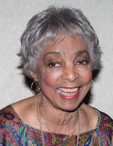 Ruby Dee attending the New Federal Theatre Press Conference at Trump Place, New York  Photo