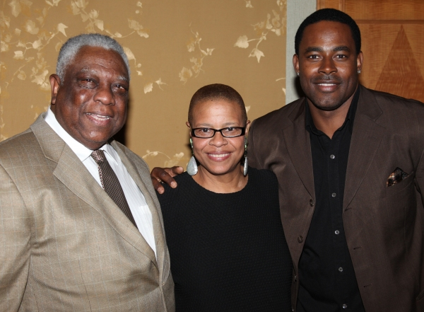 Photo Coverage: New Federal Theatre Honors Poitier, Keys et al. Press Reception