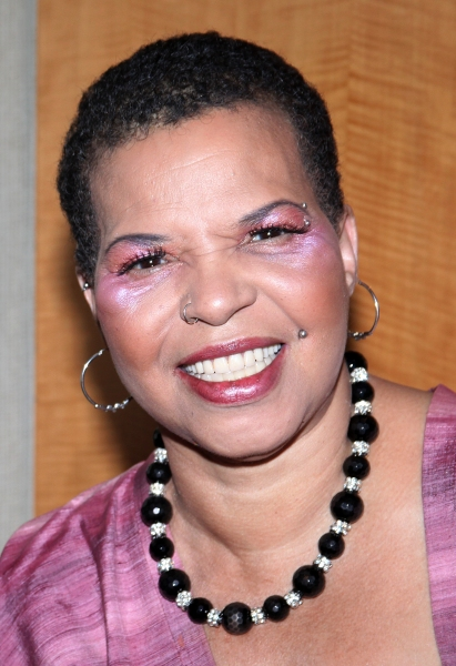 Ntozake Shange attending the New Federal Theatre Press Conference at Trump Place, New York City.