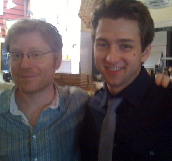 Anthony Rapp, Jason Aaronson