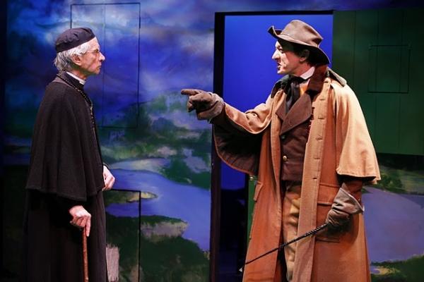Geddeth Smith (Father Dolan) and Sean Gormley