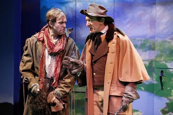 Tim Ruddy (Harvey Duff) and Sean Gormley