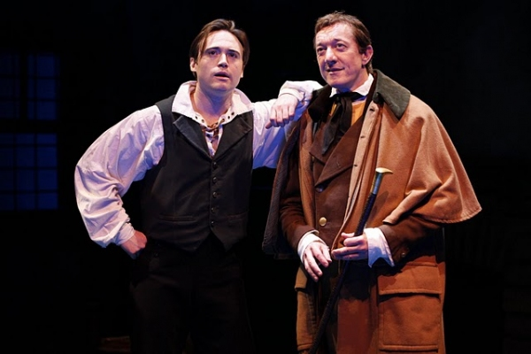 Kevin O'Donnell (Robert Ffolliott) and Sean Gormley Photo