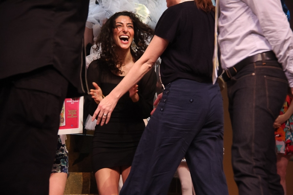 Necar Zadegan at Easter Bonnet Competition Part 2!