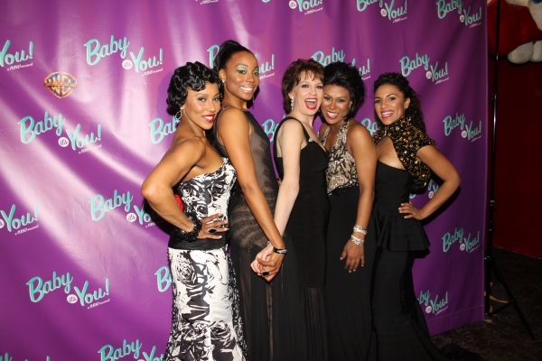 Kyra Da Costa, Erica Ash, Beth Leavel, Christina Sajous and Crystal Starr