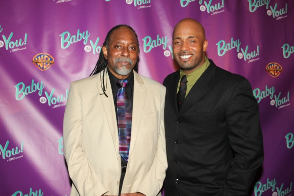 Rhan Coleman and Kris Coleman at BABY IT'S YOU Opening Night Party