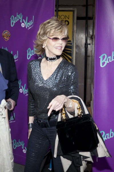 Jane Fonda at BABY IT'S YOU Opening Night Arrivals