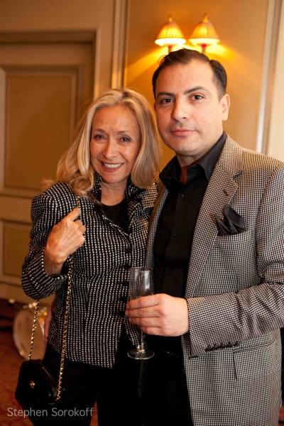Fashion Designers Eda Sorokoff & Craig Robinson at Amra-Faye Wright Plays Feinstein's