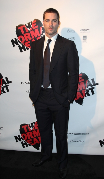 Luke Macfarlane attending the Broadway Opening Night After Party for 'The Normal Heart' in New York City.