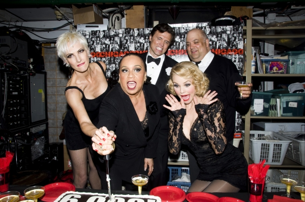 Amra-Faye Wright, Roz Ryan, Brent Barrett, Raymond Bokhour & Christie Brinkley at CHICAGO Celebrates 6000 Performances on Broadway