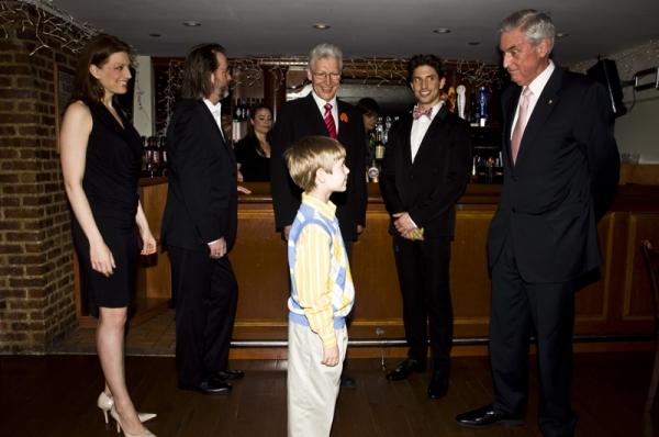 Jessica Phillips, C.David Graham, Tony Sheldon, Luke Mannikus, Nick Adams & Australian Consul General Phillip Scanlan