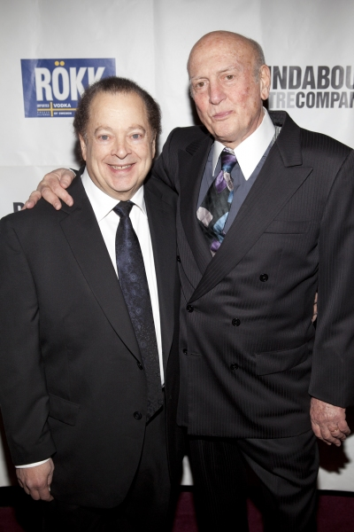 Artie Butler and Mike Stoller at THE PEOPLE IN THE PICTURE Red Carpet