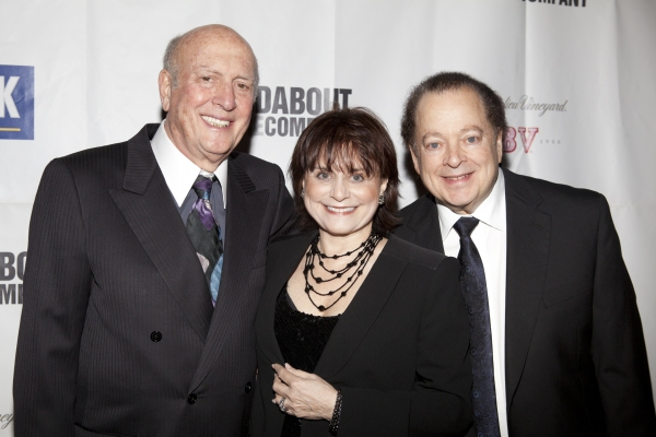 Mike Stoller, Iris Rainer Dart and Artie Butler at THE PEOPLE IN THE PICTURE Red Carpet
