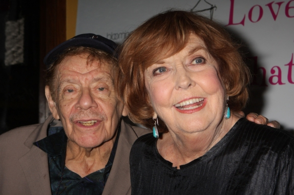 Jerry Stiller and Anne Meara at LOVE, LOSS Welcomes Kelly, Sullivan et al.