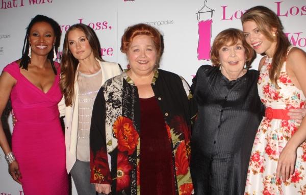 B. Smith, Minka Kelly, Conchata Ferrell, Anne Meara and AnnaLynne McCord Photo