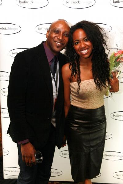 Varris Holmes + cast member Whitney White