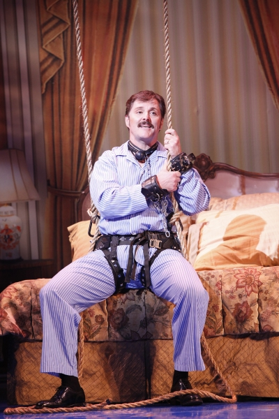 Joseph Mahowald as Mr. Hart at BWW Reviews:  9 TO 5 National Tour in Denver
