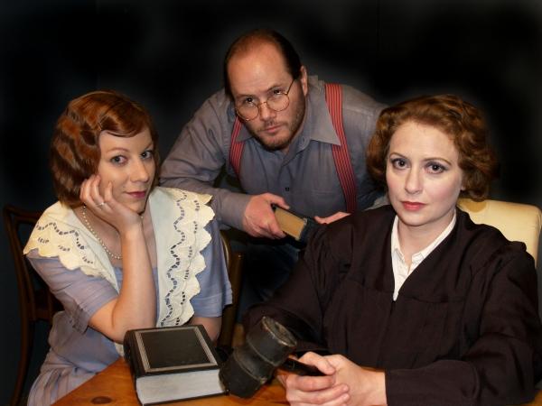 (L-R) Alexandra St. Aubin, Matt Ellison, Brandy McGreer