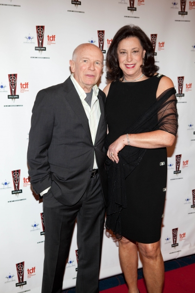 Terrence McNally and Lynn Meadow