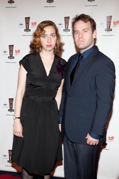 Kristen Schaal and Mike Birbiglia