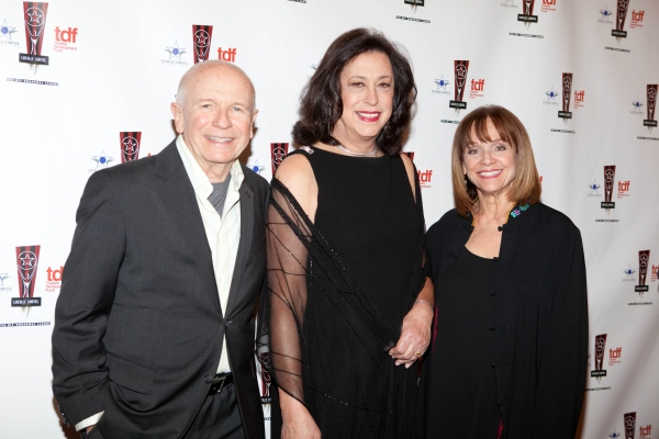 Terrence McNally, Lynn Meadow and Valerie Harper at 26th Annual Lucille Lortel Awards: Arrivals