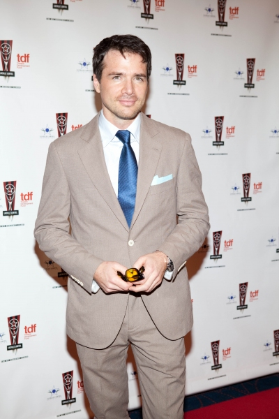 Matthew Settle at 26th Annual Lucille Lortel Awards: Arrivals