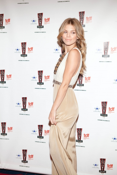 Annalynne McCord at 26th Annual Lucille Lortel Awards: Arrivals