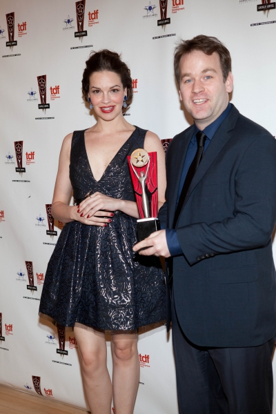 Tammy Blanchard and Mike Birbiglia at 26th Annual Lucille Lortel Awards: Winners, Presenters and Performers
