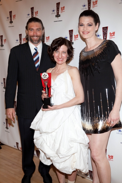 Anson Mount, Donyale Werle and Kate Shindle