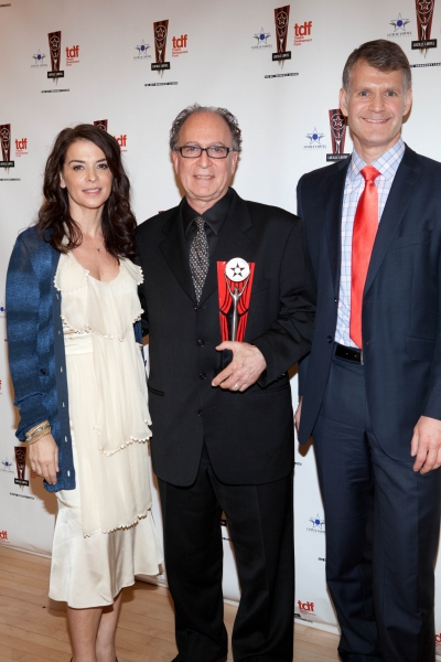 Annabella Sciorra, Gary Glaser and George Forbes